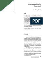 A PSICOPEDAGOGIA INSTITUCIONAL E ED INFANTIL.pdf
