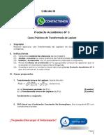 Cálculo III Producto Académico N°3