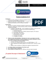 Contabilidad Financiera II Producto Académico N°3