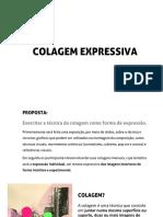 Oficina Colagem Expressiva