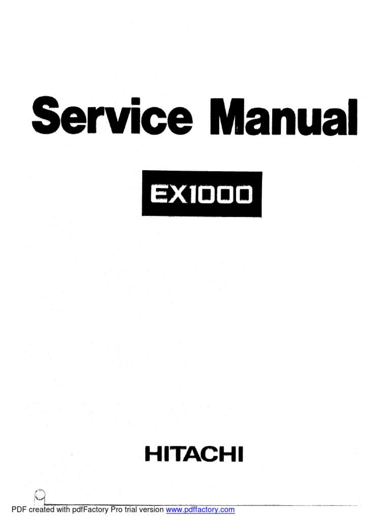 MANUAL SERVICE HITACHI EX1000.pdf