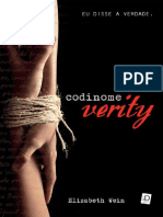 Elizabeth Wein - Codinome Verity