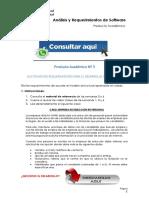 ANÁLISIS Y REQUERIMIENTOS DE SOFWARE PRODUCTO ACADÉMICO N°3