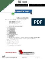 FORMULACIÓN Y EVALUACIÓN DE PROYECTOS DE INVERSIÓN PRODUCTO ACADÉMICO N°3