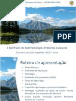 II Seminário de Sedimentologia - Ambientes lacustres.pptx