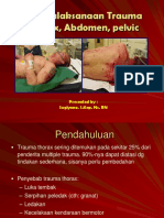 Trauma_thorax, Abdomen, Pelvic p Sugi
