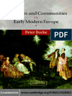 Peter Burke Languages and Communities in Early Modern Europe The Wiles Lectures  2004 (1)