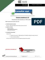 INFORMÁTICA PRODUCTO ACADÉMICO N°3