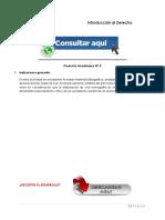 INTRODUCCIÓN AL DERECHO PRODUCTO ACADÉMICO N°3