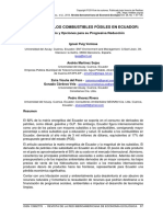 SUBSIDIOS A LOS COMBUSTIBLES FÓSILES EN ECUADOR