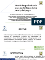 Vulnerabilidad Sísmica Galápagos