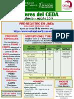 Inscripciones Talleres CEDA 2019 01