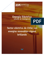 Sector Eléctrico Chile. Energías renovables