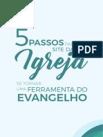 5 Passos Para o Site Da Sua Igreja Se Tornar Uma Ferramenta Do Evangelho