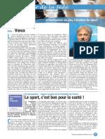 Le Cahier de la Fédé le Nº 54 - Fédération Française des Échecs