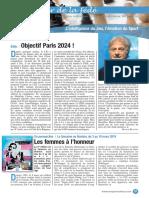 Le Cahier de la Fédé le Nº56 - Fédération Française des Échecs