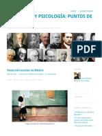 Deserción escolar en México | Educación y Psicología