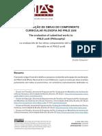 Veritas - A avaliação de obras do componente curricular filosofia no PNLD 2018.pdf