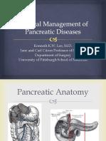 Manejo Cirúrgico de  Doenças Pancreáticas