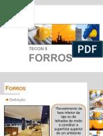 Aula - Forros