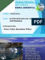 Geologia Agua Subterrania