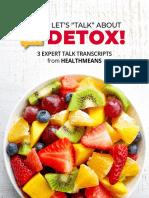 HM Lets Talk About Detox Gift