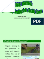 Organic Agriculture Producing Healthy Safe Quality Foods