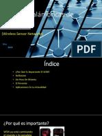 PPT Redes Inalámbricas de Sensores