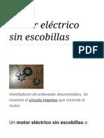 Motor Eléctrico Sin Escobillas - Wikipedia, La Enciclopedia Libre