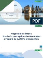 Rapport - Le Marocain & L'Impôt.pdf