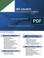 Samsung ProXpress SL-408x Laser MFP series - Guía del usuario.pdf
