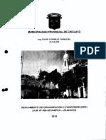 3dad63_reglamento de Organizacion y Funciones Rof Mpch 2015