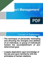 Project Management Upload