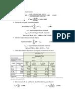 Cálculos informe