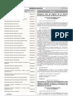 Aprueban La Directiva Administrativa Que Regula El Pintado Resolucion Ministerial No 832 2015minsa 1327511 2