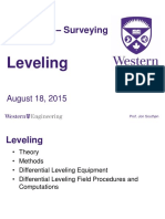 CEE 3324a - Lecture 2 - Leveling