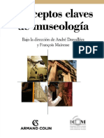 Desvallees, Andre; Mairesse, Francois. - Conceptos Clave de Museologia [2009]