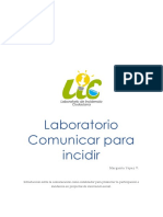 Laboratorio de incidencia fundación Esquel