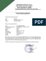 Surat Keterangan Beda Nik Kelurahan Tondo