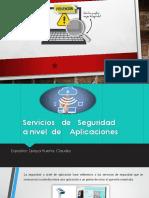 Seguridad a Nivel de Aplicaciones