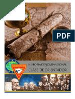 Historia Denominacional de Orientador Tg