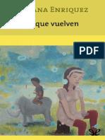Mariana Enríquez Chicos que vuelven