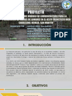 Proyecto Humus de Lombriz Ma y Rr. Nn Ppt Sustentacion
