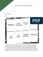 Cara Membuat Halaman Berbeda di Word.docx