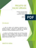 Projeto de Arborização Urbana