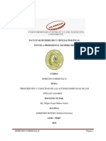 Informe de La Matriz de Linea de Investigacion