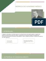 A Política Econômica Do Governo Médici (VERSÃO FINAL) (1)
