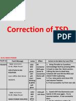 TSD Correction