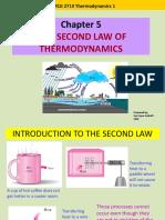 thermodynamic second law