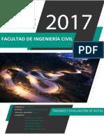Trazados de Rutas- Supe 2017